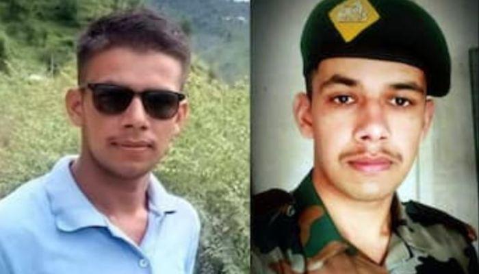Soldier Anchit Kumar