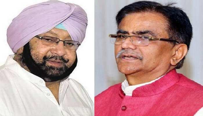 Dhankar Attacks on Amarinder Singh