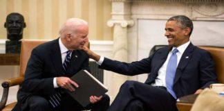 Barak Obama Congratulates Joe Biden