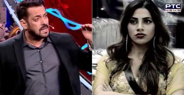 Bigg Boss 14: Salman criticises Nikki Tamboli for hiding oxygen mask