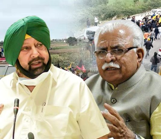 Dilli Chalo: Captain condemns Haryana govt's attempts to disrupt farmers