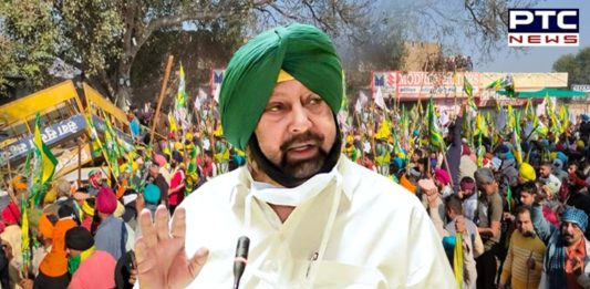 Dilli Chalo: Captain Amarinder Singh urges Centre to immediately initiate talks with farmers