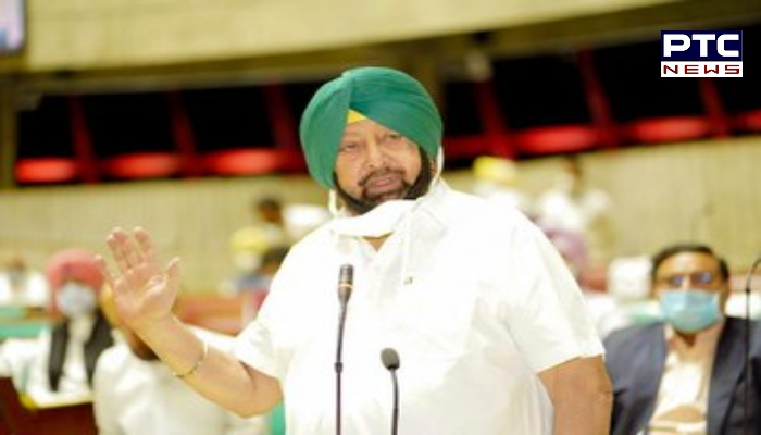 Captain Amarinder Singh questioned timing notices issued by Enforcement Department and Income Tax Department. Punjab Farm amendment Bills.