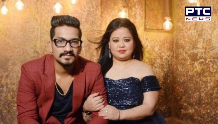 Comedian Bharti Singh NCB raids her and Haarsh Limbachiyaa's house in Mumbai