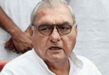 Hooda on Ahmed Patel death