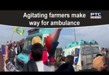 DIlli Chalo: Agitating farmers make way for ambulance