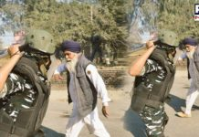 Rahul Gandhi tweets photo of police 'beating' old farmer; BJP shares video