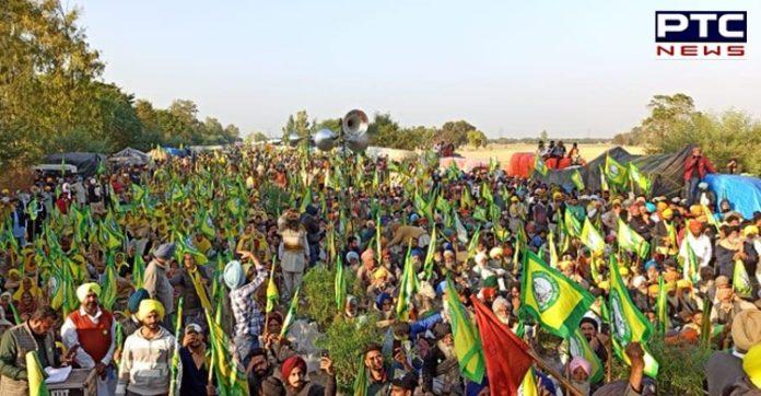 Farmers' Protest : Farmers' Protest Kundli Border in New Delhi
