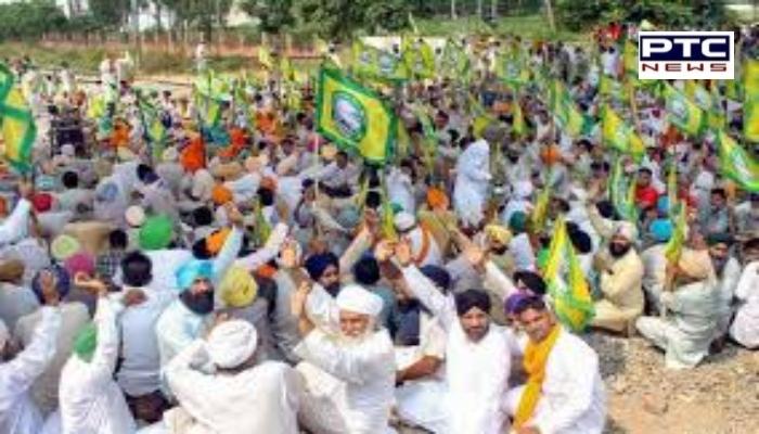 30 farmers' organizations of Punjab Decision meeting of Passenger trains