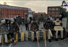 Farmers Protest In Delhi : Heavy barricading by police on Haryana side at Shambhu border