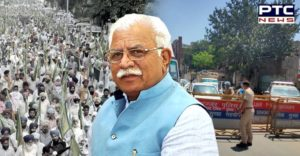 Haryana government borders sealed November 26-27 on Farmers Protest