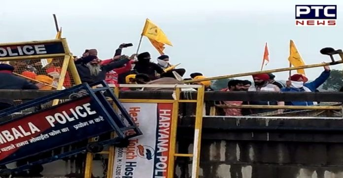 Dilli Chalo: Despite firing water cannons, Punjab farmers break barricades at Shambhu border