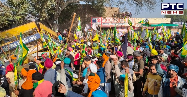 """Punjab farmers thanks PTC News for Dilli Chalo agitation coverage: Media is also known as the """"fourth pillar"""" of society."""
