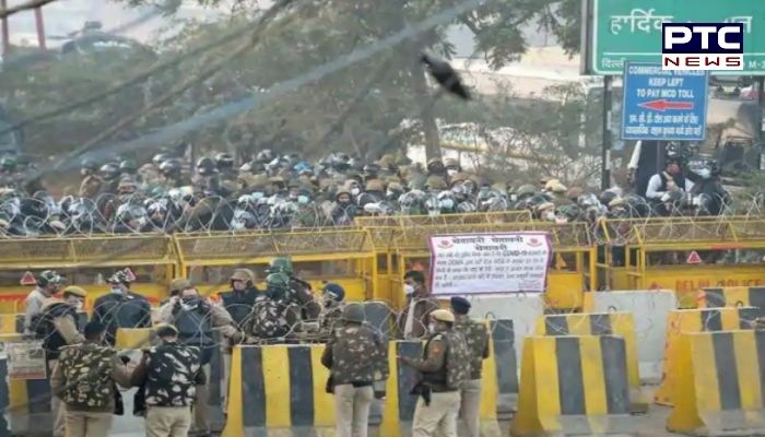 Farmers Protest In Delhi : Tikri border And Singhu border Farmers Protest
