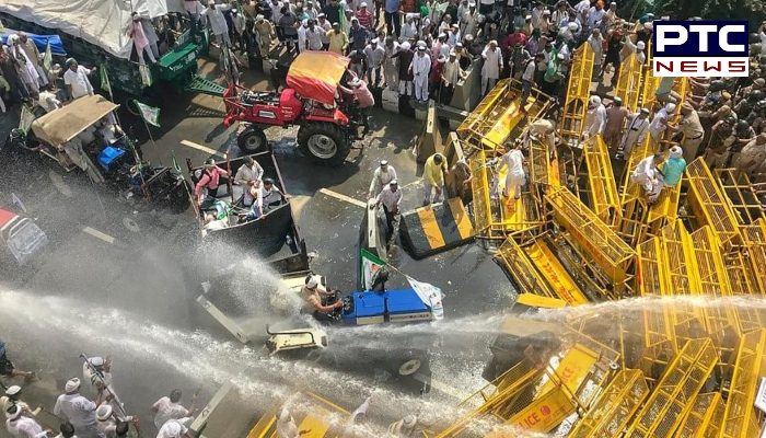 Farmers Protest, Narendra Modi Effigy Burnt: Farmers are marching towards Delhi as a part of 'Dilli Chalo' agitation against farm laws 2020.