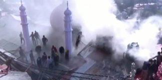 Lower Bazaar Shop Gutted in Fire