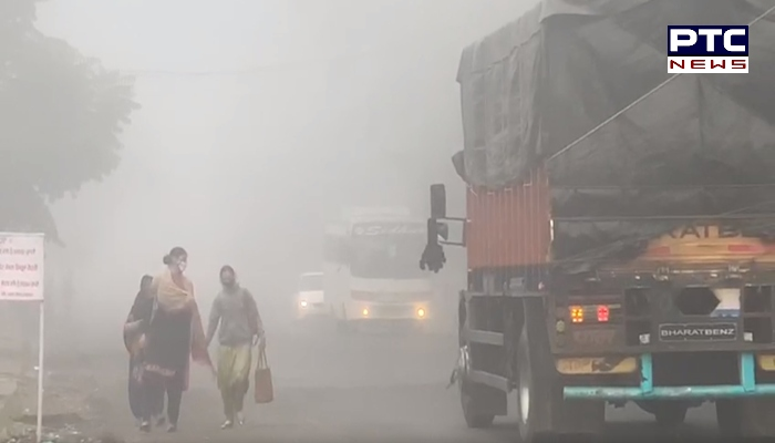 Fog in the Punjab after rains, drop in temperature recorded