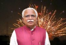 Haryana government takes U-turn on ban on crackers on festivals
