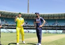 IND vs AUS 1st ODI: Australia wins toss and elects to bat first