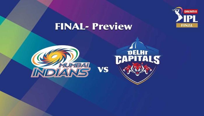 IPL 2020 Final: Delhi Capitals vs Mumbai Indians