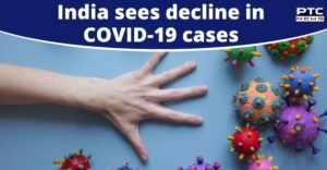India continues to report decline in daily new cases