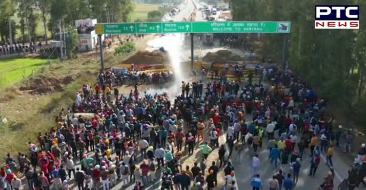 Farmers protest: Arrangements made by Haryana police to stop farmers failed farmers headed towards Delhi as a part of 'Dilli Chalo' agitation against farm laws 2020.
