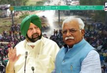 War of Words between Amarinder Singh and ML Khattar over 'Dilli Chalo' agitation