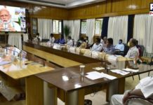 PM Narendra Modi chairs review meeting with CMs on COVID-19