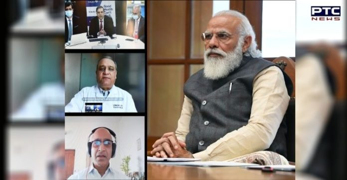 PM Narendra Modi interacts with 3 teams working on COVID-19 vaccine