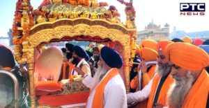 Nagar Kirtan dedicated to the 551st birth anniversary of Guru Nanak Dev ji