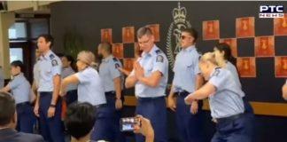 New Zealand police officers shake a leg on 'Kala Chashma' and 'Kar Gayi Chull'