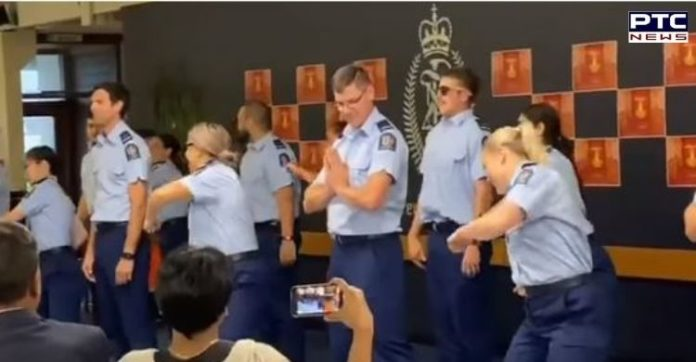 New Zealand police officers shake a leg on 'Kala Chashma' and 'Kar Gayi Chull'