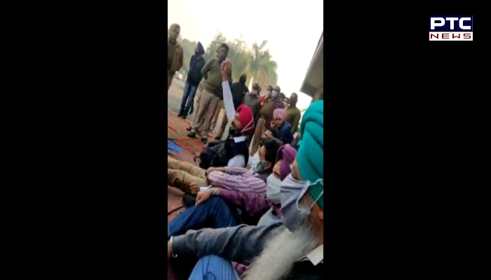 Punjab Agricultural University employees protest Against Vice Chancellor