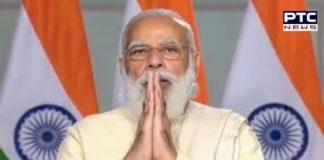 Prime Minister Narendra Modi on Monday inaugurated construction work of Agra Metro project in Agra, Uttar Pradesh.