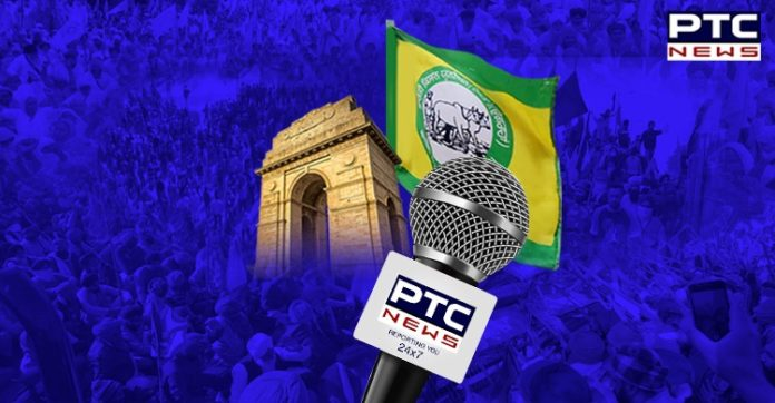 Dilli Chalo agitation: Farmers laud PTC News for standing shoulder-to-shoulder