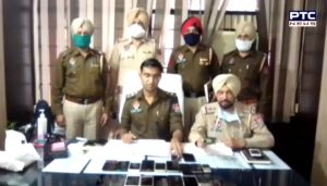 Patiala police arrested 5 thieves, recovered 21 mobiles and 2 motorcycles