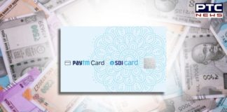 contactless SBI Paytm card
