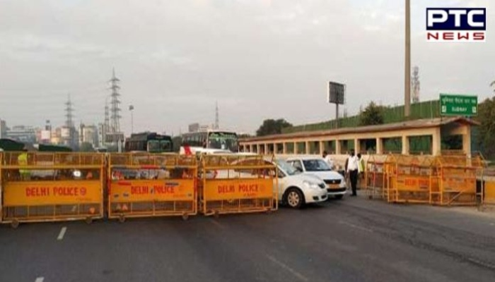 Haryana government has sealed all the borders with Punjab and Delhi
