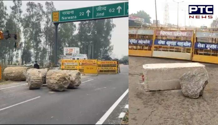 Farmers protest Dilli Chalo agitation: Punjab farmers gathered near interstate borders against farm laws 2020 as Haryana announced Section 144.