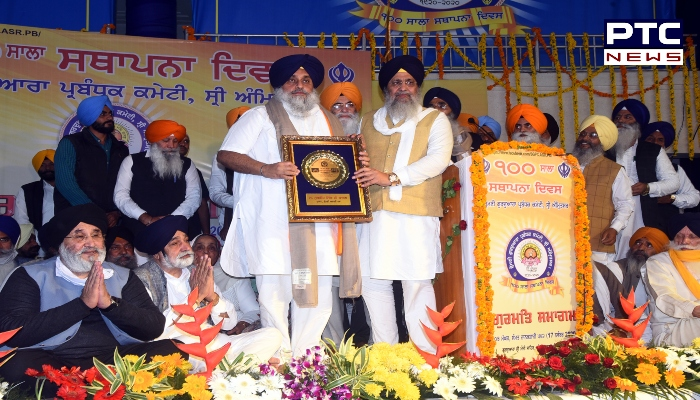 SGPC foundation day : We will not allow SGPC to split in any way: Sukhbir Singh Badal