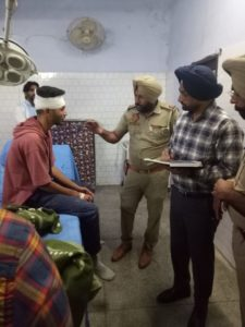 Police officer shot dead