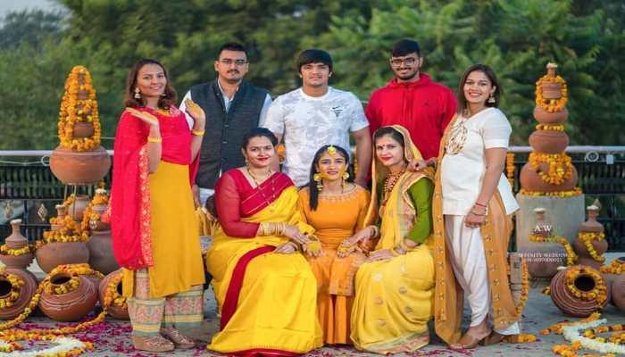 Sangeeta Phogat Marriage Photos