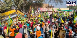 Farmers break police barricades at Dabwali border, farmers march to Delhi