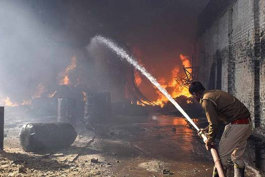 Bengal Blast: 4 killed, 4 critically injured in plastic factory