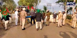 Punjab farmers break first barricade placed by Haryana Police, march towards Delhi