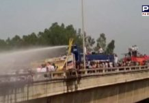 Farm bills: Haryana Police uses water cannon on farmers Chandigarh-Delhi highway