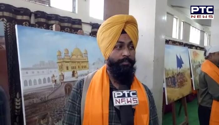 Bhai Gobind Singh Longowal honored the painters
