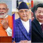china nepal india