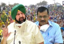 CAPT AMARINDER LASHES OUT AT KEJRIWAL FOR LOW-LEVEL POLITICS ON FARMERS' ISSUE