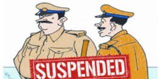 policemen suspended